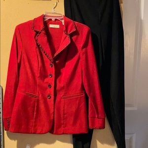 Two-piece suit size 6